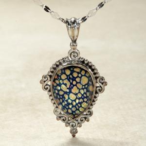 opalescent quartz pendant
