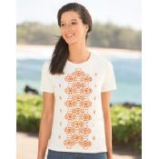 orvis block pattern embroidered crewneck tee