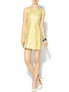 DV by Dolce Vita Misha Goldie Dress Gold